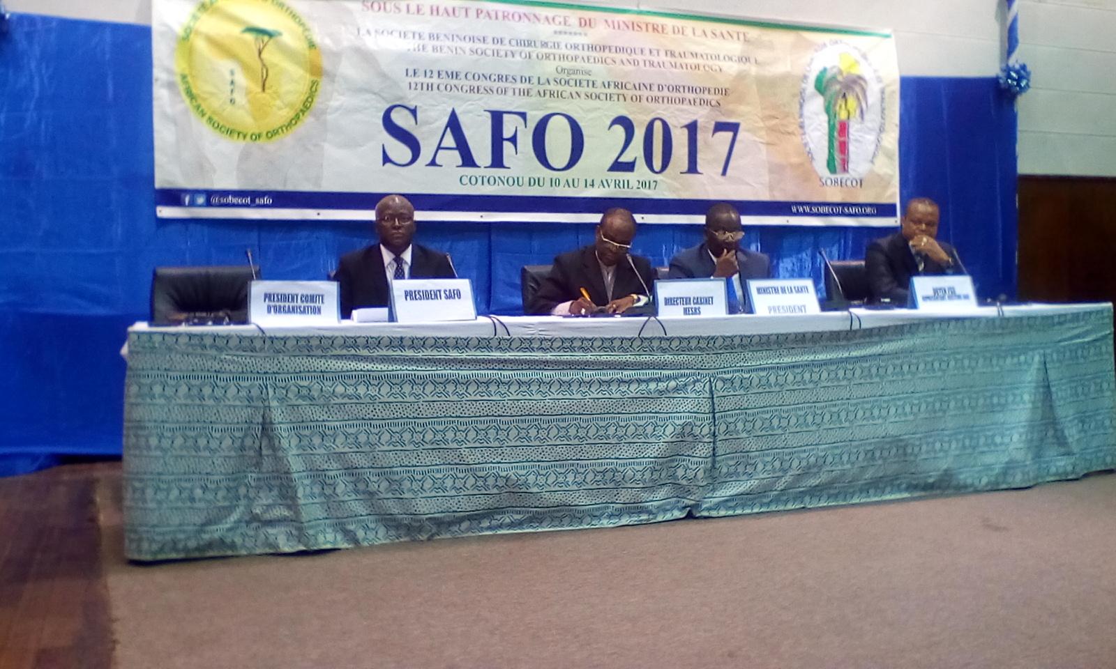 12ème congrès de la Société africaine d'orthopédie