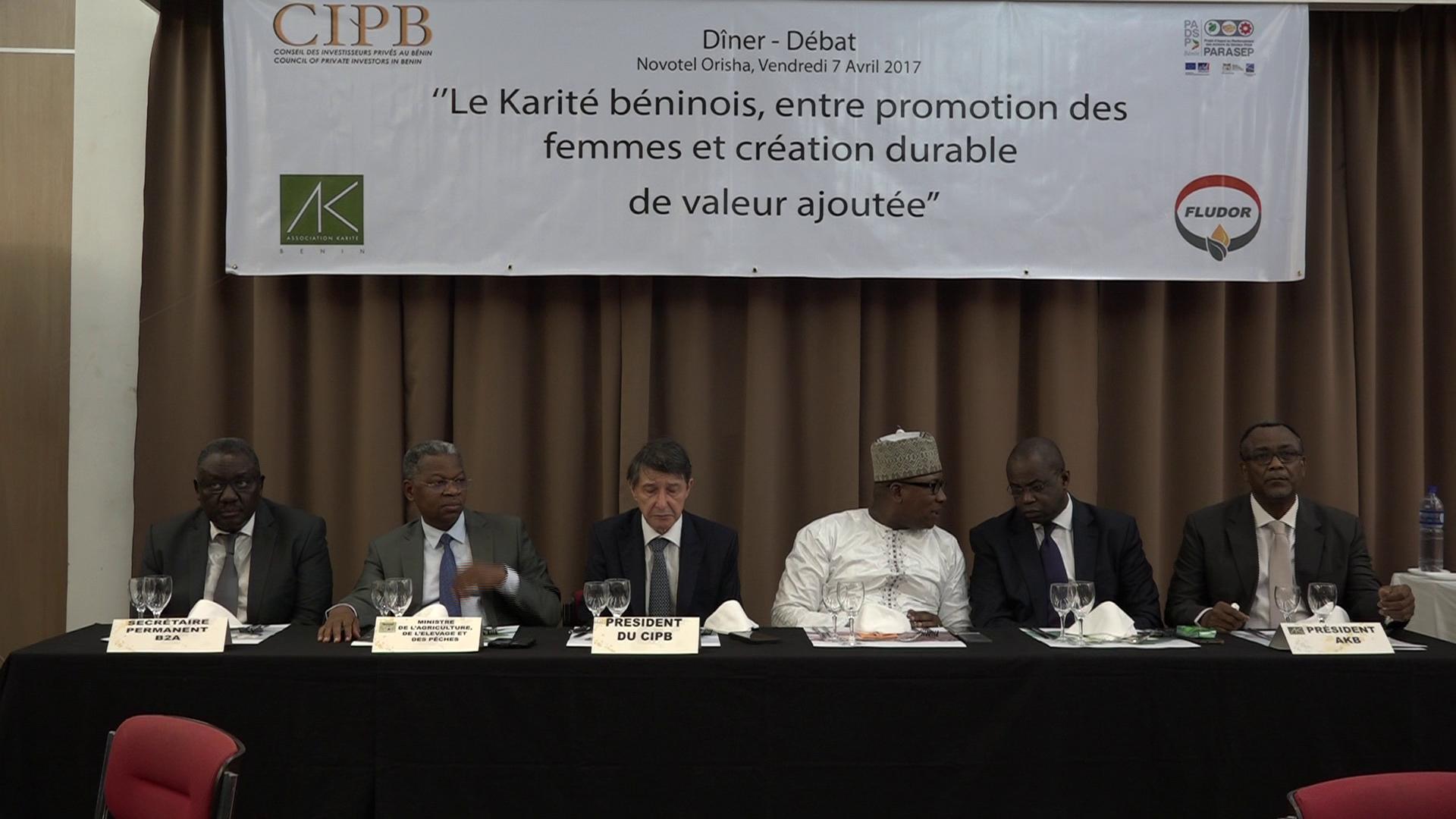 Bénin / Economie : Le CIPB et le  PARASEP pour la Promotion de la filière KARITE au Bénin
