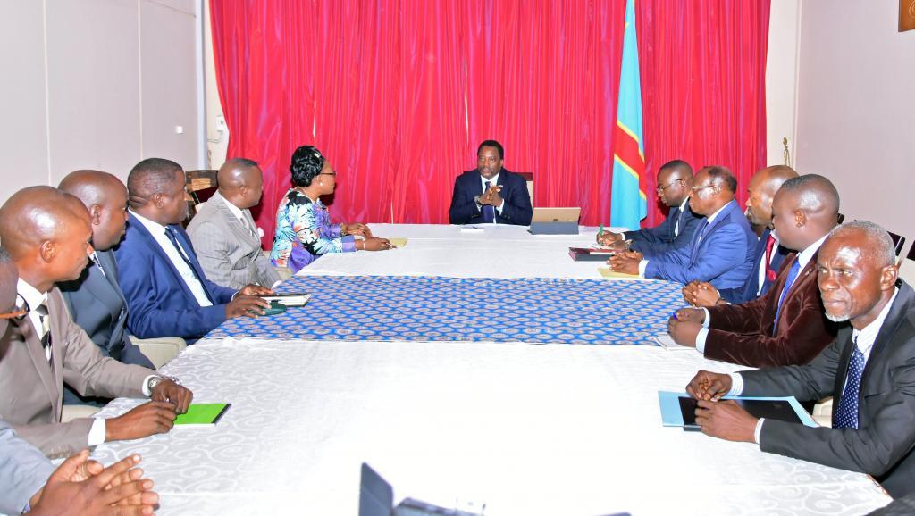 RDC: Le président consulte l'opposition avant son discours devant l'assemblée