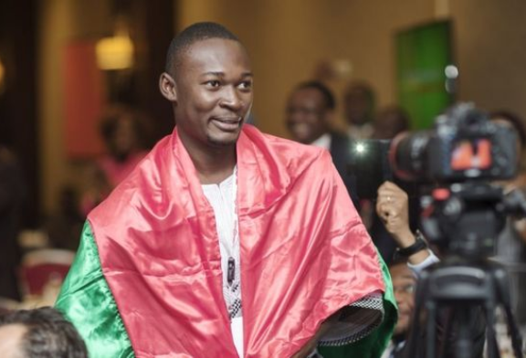 Burkina / Innovation : Christian Toé, À 28 ans, il développe Laafi Bag, un sac réfrigérant