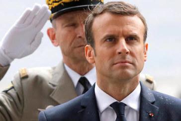 France / Diplomatie : Macron avec Le Drian et Goulard à Gao ( Mali)