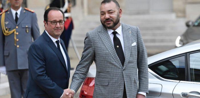 Mohammed VI en visite privée à l'Elysée