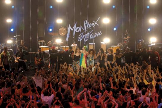 Plein feu sur le Festival de Montreux