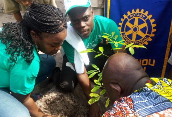 Bénin : le Rotary club de cotonou Citou en phase avec le thème de la journée de l'arbre