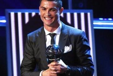 The Best: Cristiano Ronaldo remporte le titre de meilleur Joueur FIFA de l'année