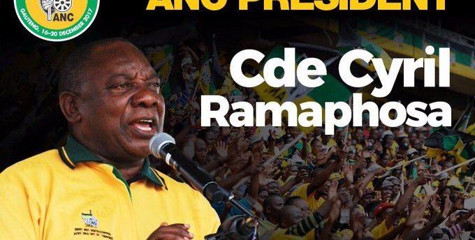 Afrique du Sud: Cyril Ramaphosa élu président de l'ANC
