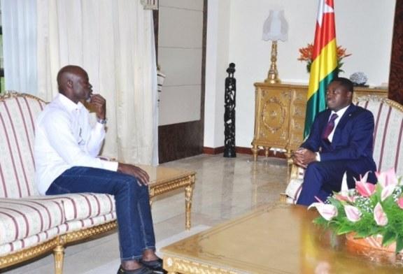 Bientôt une école de Cinéma au Togo, Djimon Hounsou a échangé avec Faure Gnassingbé