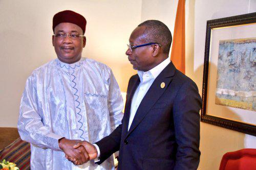 Corridor Ferroviaire Bénin-Niger: Talon et Issoufou scellent les liens autour de Samuel Dossou-Aworêt