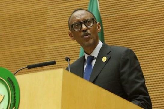 Paul Kagame prend la tête de l'Union Africaine