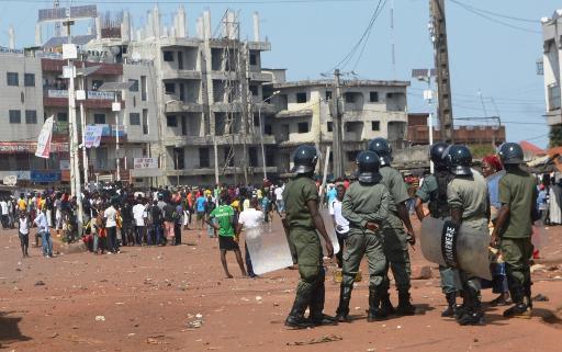 Guinée : un agent de sécurité tué dans les affrontements entre manifestants et forces de l'ordre