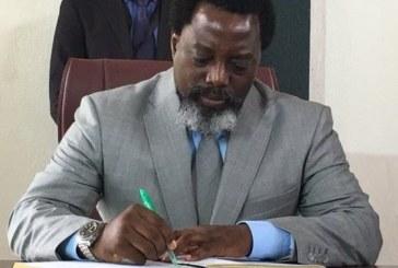 Le gouvernement botswanais exhorte Joseph Kabila à quitter le pouvoir