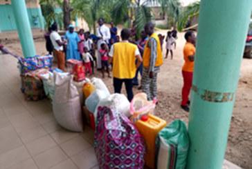 Bénin / Société : Le Lions Club Cotonou l'Eau Vive et ses partenaires au chevet de l'orphelinat Jean Paul II de Dangbo