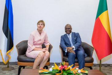Diplomatie: En visite au Bénin, la Présidente de l'Estonie anime une conférence sur l'importance du numérique dans le développement d'une nation