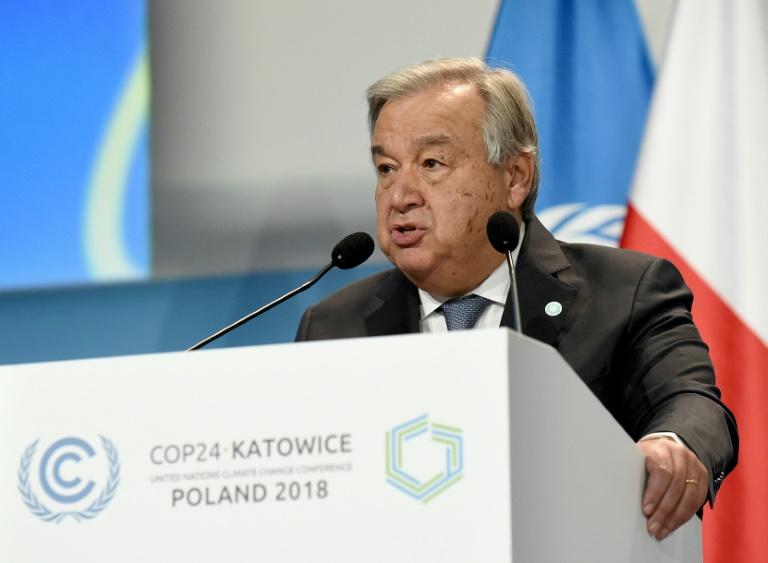 Climat: le monde toujours pas sur les bons rails, dénonce l'ONU
