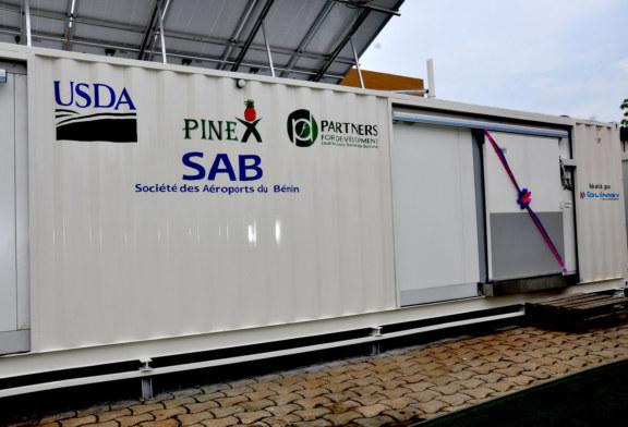 Bénin : le MAEP dote l'aéroport de Cotonou d'une chambre froide pour l'ananas