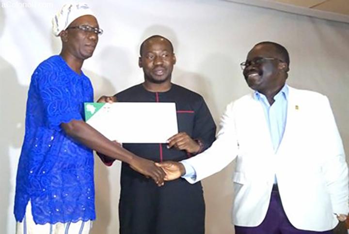 Bénin/ Soutien du gouvernement aux fédérations sportives : le Ministre Oswald HOMEKY procède à la remise des subventions de 2019