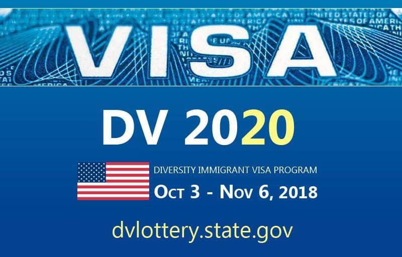 Loterie visa 2020, les résultats enfin disponibles