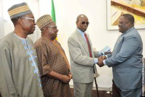 Parlement : le Président Vlavonou reçoit l'onction des dignitaires du Bénin