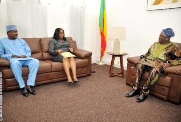 Bénin : point des audiences du Président de l'Assemblée Nationale