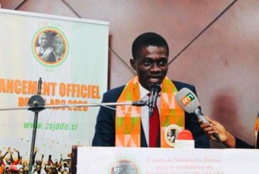 Côte-d'Ivoire : Présidentielles de 2020, Fofana Malick Philippe, Président du CSJ-ADO sonne la grande mobilisation autour du Président Alassane