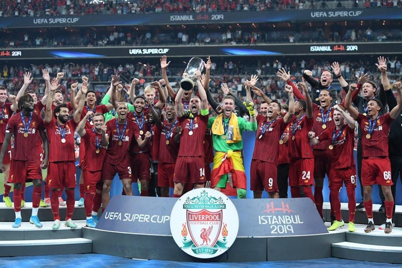 Sadio Mane et Liverpool remportent la Supercoupe d'Europe