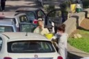 COVID-19/ITALIE : LES VÉHICULES DES PATIENTS SERVENT DÉSORMAIS DE SALLES D'HOSPITALISATION